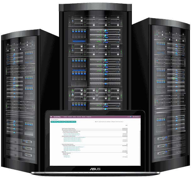 Hosting server cloud Odoo