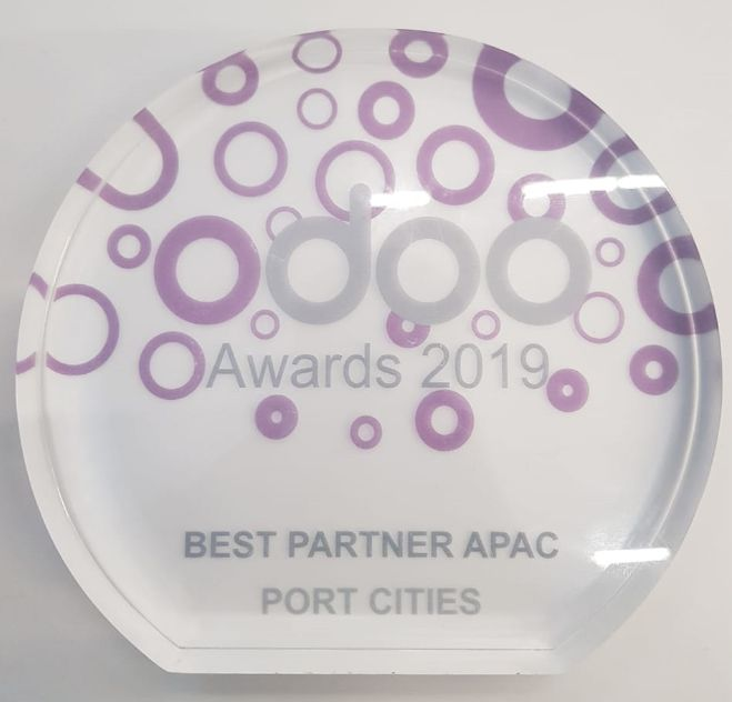 Port Cities award best Odoo partner in APAC
