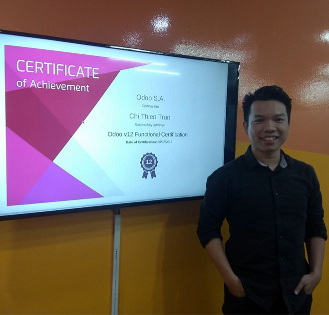 Port Cities Odoo 12 13 certification